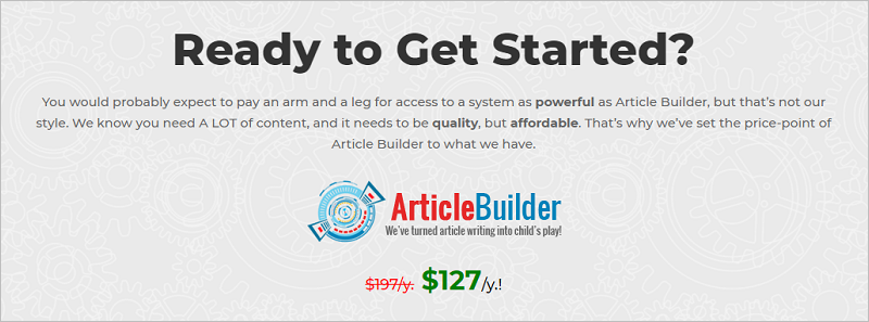 Article Builder - Phần mềm tạo Article tốt nhất