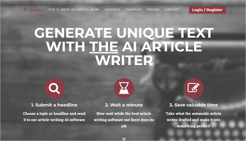 AI Writer - Trình tạo bài viết về AI tốt nhất