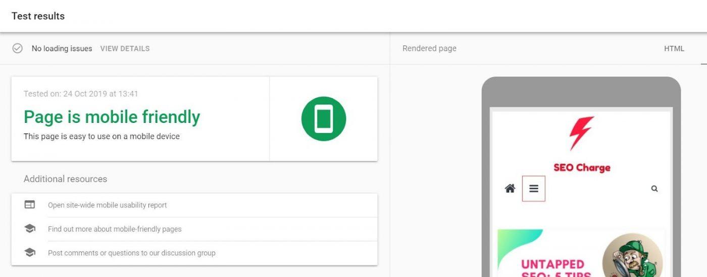 Kiểm tra xem trang web của bạn có Tương thích với nền tảng smartphone hay không