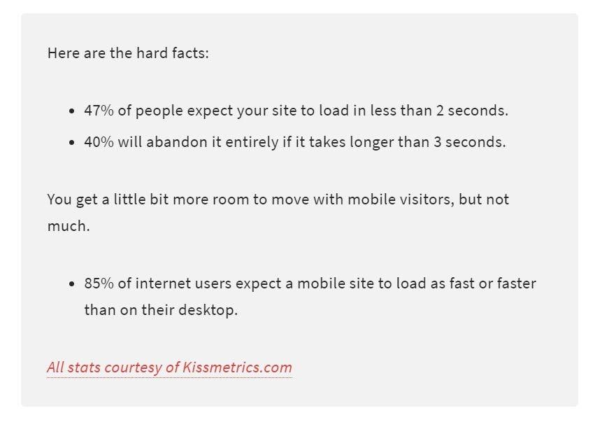 Cải thiện tốc độ tải trang web của bạn